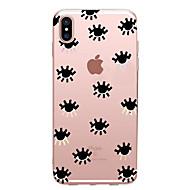 Недорогие Кейсы для iPhone 8 Plus-Кейс для Назначение Apple iPhone X iPhone 8 iPhone 6 iPhone 7 Plus iPhone 7 Ультратонкий С узором Кейс на заднюю панель Плитка Мягкий ТПУ