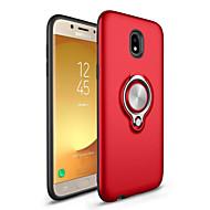 voordelige Galaxy J7(2016) Hoesjes / covers-hoesje Voor Samsung Galaxy J7 (2017) J5 (2017) Ringhouder Achterkantje Effen Kleur Hard PC voor J7 (2016) J7 Prime J7 (2017) J5 (2016) J5