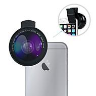 広角レンズキット寧波ユニバーサル0.6x広角レンズ/ 12xマクロレンズ(iphone用クリップ付き)