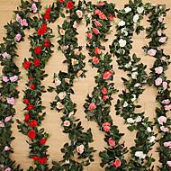 240cm çiçek yüksek sadakat gül çiçek rattan ev dekorasyonu