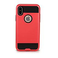 Недорогие Кейсы для iPhone 8-Кейс для Назначение Apple iPhone X iPhone 8 Защита от удара Чехол Сплошной цвет Твердый ТПУ для iPhone X iPhone 8 Pluss iPhone 8 iPhone 7