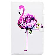 Недорогие Чехлы и кейсы для Samsung Tab-Кейс для Назначение SSamsung Galaxy Вкладка 8,0 Вкладка S2 9.7 Tab S2 9.7 Tab A 10.1 (2016) Бумажник для карт со стендом Флип С узором
