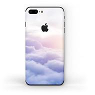Недорогие Защитные плёнки для экрана iPhone-1 ед. Наклейки для Защита от царапин Пейзаж Узор Матовое стекло PVC iPhone 7 Plus