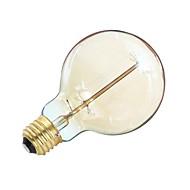 お買い得  白熱灯-1個 40W E26/E27 G95 温白色 2200 K レトロ風 調光可能 装飾用 交流220から240 AC 110-130 V