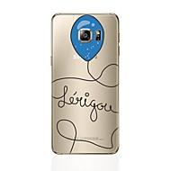 Χαμηλού Κόστους Galaxy S6 Edge Plus Θήκες / Καλύμματα-tok Για Samsung Galaxy S8 Plus S8 Με σχέδια Πίσω Κάλυμμα Μπαλόνια Μαλακή TPU για S8 Plus S8 S7 edge S7 S6 edge plus S6 edge S6