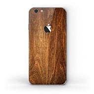 Недорогие Защитные плёнки для экрана iPhone-1 ед. Наклейки для Защита от царапин дерево Узор Матовое стекло PVC iPhone 6s/6