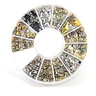 abordables -Bijoux pour ongles Adorable Manucure Manucure pédicure Plastique / Métal Classique / Punk / Mariage Quotidien