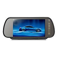 baratos Eletrônicos para Carro-7 polegadas carro estacionamento TFT-LCD monitorar retrovisor com suporte reverter câmera de segurança de alta qualidade