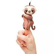 abordables Muñecas y Peluches-Mascotas electrónicas Finger Sloth Juguetes Animal Animales Movimiento Eléctrico Smart inteligente Nuevo diseño Adulto 1 Piezas