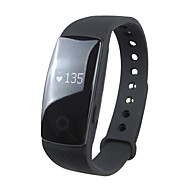 cheap -ID107 Smartwatch Android iOS Bluetooth Sports Waterproof Heart Rate Monitor Touch Screen Sleep Tracker Find My Device / Calories Burned / Long Standby / 64MB / Pedometers / 350-400