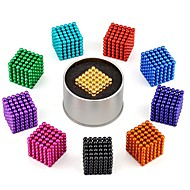 cheap Toy & Game-216 pcs 3mm Magnet Toy Magnetic Balls Building Blocks Puzzle Cube Classical Stress and Anxiety Relief Focus Toy Office Desk Toys Boys' Girls' Toy Gift