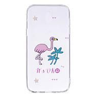 Недорогие Чехлы и кейсы для Galaxy J3-Кейс для Назначение SSamsung Galaxy J7 (2017) J5 (2017) Прозрачный С узором Кейс на заднюю панель Фламинго Мягкий ТПУ для J7 Prime J7