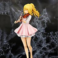 Anime Čísla akce Inspirovaný Váš Lie v dubnu Kaori Miyazono PVC CM Stavebnice Doll Toy Unisex