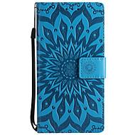 Χαμηλού Κόστους ΘΗΚΕΣ ΤΗΛΕΦΩΝΟΥ-tok Για Nokia Nokia 8 Nokia 6 Πορτοφόλι Θήκη καρτών με βάση στήριξης Ανάγλυφη Πλήρης κάλυψη Συμπαγές Χρώμα Λουλούδι Σκληρή PU Δέρμα για
