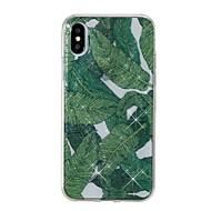 Кейс для Назначение Apple iPhone X iPhone 8 IMD С узором Задняя крышка дерево Сияние и блеск Мягкий TPU для iPhone X iPhone 8 Pluss
