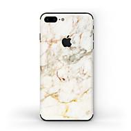 Недорогие Защитные плёнки для экрана iPhone-1 ед. Наклейки для Защита от царапин Мрамор Узор Матовое стекло PVC iPhone 7 Plus