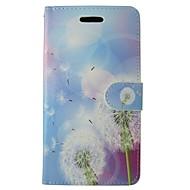 Недорогие Чехлы и кейсы для Galaxy S7-Кейс для Назначение Samsung Бумажник для карт Кошелек со стендом Флип Чехол одуванчик Твердый Кожа PU для S7
