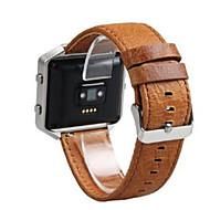 Недорогие Аксессуары для смарт-часов-Ремешок для часов для Fitbit Blaze Fitbit Современная застежка Кожа Повязка на запястье