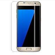 Недорогие Чехлы и кейсы для Galaxy S-Защитная плёнка для экрана Samsung Galaxy для S7 edge TPG Hydrogel 2 штs Защитная пленка для экрана и задней панели Самозаживление 3D