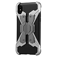 abordables Fundas para iPhone 8-Funda Para Apple iPhone X iPhone 8 Antigolpes Funda Trasera Punk Dura Metal para iPhone X iPhone 8 Plus iPhone 8 iPhone 7 Plus iPhone 7
