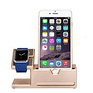 Недорогие Крепления и держатели для Apple Watch-Apple Watch Стенд с адаптером Металл Стол