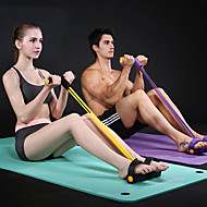 Odporová guma / válec na cvičení Guma Nastavitelný Silový trénink Fyzikální terapie Posilovací cvičení Jóga Fitness Gym workout Pro