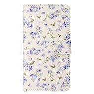 Etui Til Apple iPhone X / iPhone 8 Plus Pung / Kortholder / Med stativ Fuldt etui Blomst Hårdt PU Læder for iPhone X / iPhone 8 Plus / iPhone 8