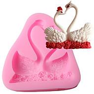 お買い得  キッチン&ダイニング-ベークツール シリカゲル 焦げ付き防止 / ベーキングツール / 3D クッキー / チョコレート / 調理器具のための ケーキ型 1個
