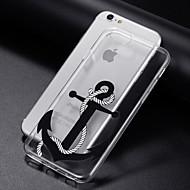 Недорогие Кейсы для iPhone 8 Plus-Кейс для Назначение Apple iPhone 8 iPhone 8 Plus iPhone 6 iPhone 6 Plus iPhone 7 Plus iPhone 7 Прозрачный С узором Кейс на заднюю панель
