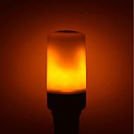 voordelige LED-maïslampen-1pc 5W 700lm E27 GU10 B22 LED-maïslampen E27 / E14 96 LEDs SMD 2835 LED verlichting Decoratief Vlameffect Warm wit 1400K AC 85-265V