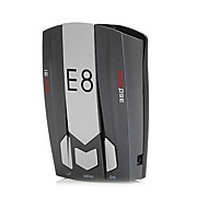 cheap Electronics Accessories-E8 Car Radar Detector 360 Degree 16 Band Speed Safety Anti-Police Scanning Advanced Voice Alert Laser LED