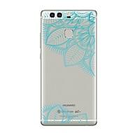 お買い得  携帯電話ケース-ケース 用途 Huawei社P9 Huawei社P9ライト Huawei社P8 Huawei Huawei社P9プラス Huawei社P8ライト Huawei社メイト8 P9 P10 クリア パターン バックカバー レース印刷 ソフト TPU のために P10 Plus