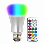 olcso LED okos izzók-580-700 lm E26/E27 Okos LED izzók BR 30 led SMD 5050 Tompítható Dekoratív Távvezérlésű RGB AC 220-240V