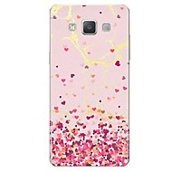 voordelige Galaxy A7(2016) Hoesjes / covers-hoesje Voor Samsung Galaxy A7(2017) A5(2017) Patroon Achterkant Tegel Hart Marmer Zacht TPU voor A5 (2017) A7 (2017) A7(2016) A5(2016) A8
