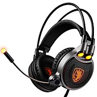 billige Daglige tilbud-SADES R1 Pandebånd Ledning Hovedtelefoner Dynamisk Plast Gaming øretelefon Headset