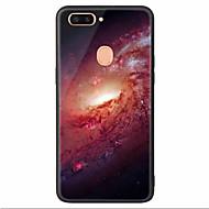 お買い得  携帯電話ケース-ケース 用途 OPPO R11s Plus R11s パターン スカイ ソフト のために
