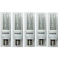 お買い得  LED コーン型電球-5個 9W 720lm E27 LEDコーン型電球 T30 48 LEDビーズ SMD 3528 クールホワイト 110-240V