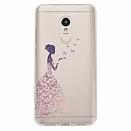 お買い得  携帯電話ケース-ケース 用途 Xiaomi Redmi Note 4X Redmi Note 4 パターン バックカバー セクシーレディ ソフト TPU のために Xiaomi Redmi Note 4X Xiaomi Redmi Note 4