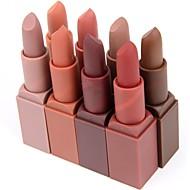 Accessoires de Maquillage Rouges à Lèvres 1 pcs Sec / Mat / Mélange Longue Durée Maquillage Cosmétique Quotidien Accessoires de Toilettage