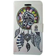 Недорогие Чехлы и кейсы для Galaxy S7-Кейс для Назначение Samsung Кошелек Бумажник для карт со стендом Флип Чехол Ловец снов Твердый Кожа PU для S7