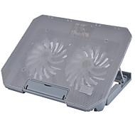 Недорогие Подставки и стенды для MacBook-Регулируемая подставка Другое для ноутбука Подставка с охлаждающим вентилятором пластик Другое для ноутбука