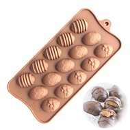 お買い得  キッチン用小物-ベークツール シリカゲル ベーキングツール / 3D / クリエイティブキッチンガジェット ケーキ / クッキー / ケーキのための 円形 ケーキ型