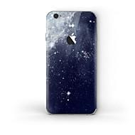 Недорогие Защитные плёнки для экрана iPhone-1 ед. Наклейки для Защита от царапин Цвет неба Узор PVC iPhone 6s Plus/6 Plus