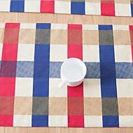 abordables Salvamanteles-Ordinario Lino / Algodón Cuadrado Juego de Mesa Decoraciones de mesa