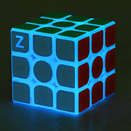 Rubik's Cube z-cube Luminous Glow Cube 3*3*3 Smooth Speed Cube Magic Cube Puzzle Cube Office Desk Toys Stress and Anxiety Relief