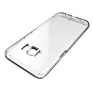 Недорогие Чехлы и кейсы для Galaxy S8-Кейс для Назначение SSamsung Galaxy S8 Защита от удара Прозрачный Мягкий для