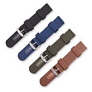 Недорогие Часы для Samsung-Ремешок для часов для Gear S3 Frontier Samsung Galaxy Современная застежка Нейлон Повязка на запястье