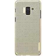 Недорогие Чехлы и кейсы для Galaxy А-Кейс для Назначение SSamsung Galaxy A8 2018 A8 Plus 2018 Защита от удара Ультратонкий Матовое Кейс на заднюю панель Сплошной цвет Твердый