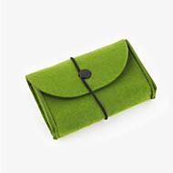 voordelige Mac-hoezen & Mac-tassen & Mac-etuis-Opbergtas voor Effen Kleur polykarbonaatti Voeding Flash Drive Harde schijf Hoofdtelefoon/oordopjes