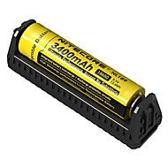お買い得  -Nitecore F1 Battery Charger のために リチウムイオン 回路保護, 逆極性保護, 短絡回路保護 10440,14500,16340,17335,17500,17670,18490,18650,26650,RCR123